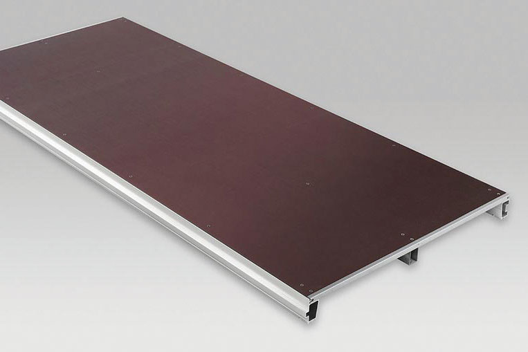 System cassette flooring for large tents