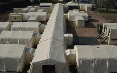 Why choose Losberger De Boer tents for an emergency?